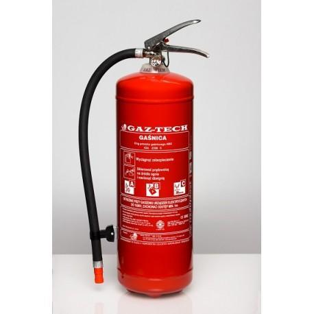 gasnica proszkowa gp 6 x abce plus inox do 245 kv